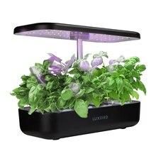 Inkbird Hydroponics Growing System Garden Pots Planter Seeds Flowerpots Indoor Herb Gardening Starter Kit with LED Growing Light