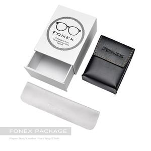 Image 5 - FONEX High Quality Folding Reading Glasses Men Women Foldable Presbyopia Reader Hyperopia Diopter Eyeglasses Screwless LH012