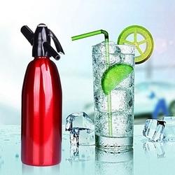 Soda Siphon CO2 Dispenser WATER Bubble Generator Cool Drink Cocktail Soda Machine Aluminum Alloy Bar DIY Soda Maker