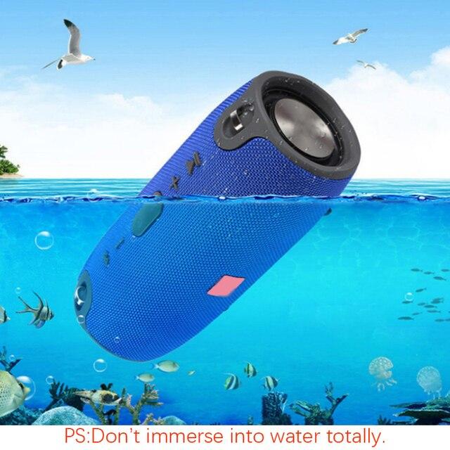 Altavoz Bluetooth de alta potencia 40W impermeable portátil columna estéreo con Supergraves para Comuter PC altavoces con Radio FM BT AUX TF