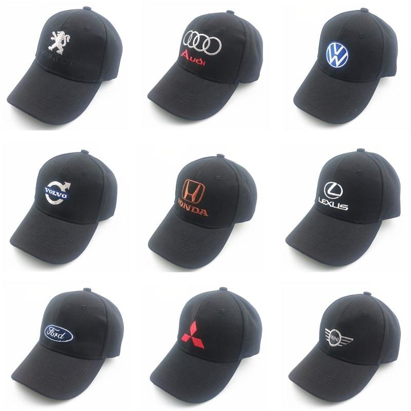 New Men's Snapback Baseball Cap Wholesale All Models Car Logo Car Truck Cap For Suzuki Audi Toyota Opel Rada Guangben