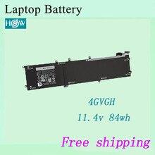 Горячая 4GVGH Аккумулятор для ноутбука Dell XPS 15 9550 точность 5510 батарея