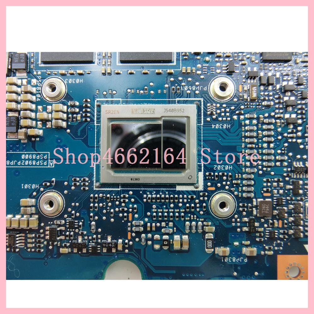 Image 3 - UX305CA mainboard M3 6Y30 CPU 8GB RAM REV 2.0 For ASUS UX305C UX305CA Zenbook motherboard 90NB0AA0 R00040 Tested OK-in Laptop Motherboard from Computer & Office