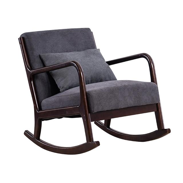 Hardwood Rocking Armchair  1