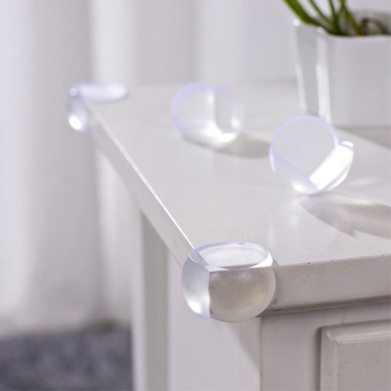 5/10pcs Baby Safety Table Corner Protector Transparent Anti-Collision Angle Protection Cover Edge Corner Guard Protection