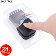 SMATRUL Waterproof Cover Transparent For Wireless Doorbell Door Bell Chime Butto