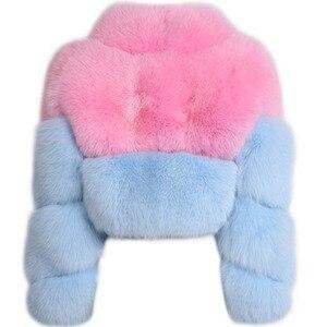 Image 5 - fur real jacket ladies natural fur shawl fox fur real jacket
