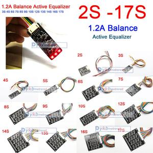 Image 1 - 2S  17S 1.2A Balance Active Equalizer Board BMS Li ion Lifepo4 LTO Lithium Battery protection 4S 6S 7S 8S 10S 12S 13S 14S 16S