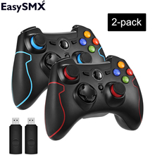 EasySMX 2pcs ESM 9013 Wireless Gamepad Joystick Game Controller with Vibration Joystick For PC PS3 Android TV Box Phone Gamers