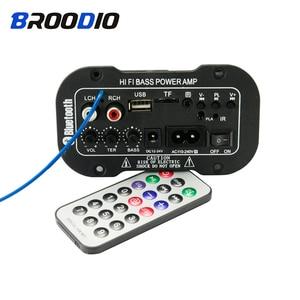 Image 3 - Bluetooth Bộ Khuếch Đại Kỹ Thuật Số Ban 30W Bộ Khuếch Đại Âm Thanh Với USB Đắc Đài FM TF Nghe Loa Siêu Trầm Amplificador Cho Loa