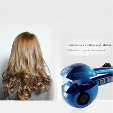 Электрические бигуди для волос автоматические не поврежденные волосы отрицательная ионизация волос Уход бигуди MRX-8100 керамический нагрев парикмахерский инструмент 110~ 230 В