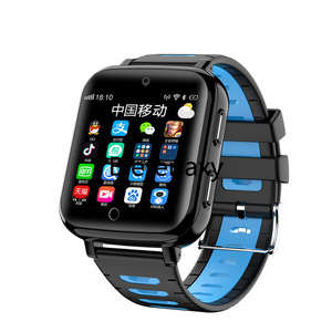 Image 3 - 4G Childrens smart watch  Android 6.1 phone kids Elder Heart Rate SmartWatch Voice Recorder Monitor with Sim Card wifi watches