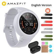 "English Huami Amazfit Verge Lite GPS Smart Watch IP68 1.3"" AMOLED Screen 20 Days Battery Life Verge Lite Wristwatch"