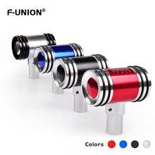 F union шестерня Ручка автомобильный Стайлинг Алюминиевый металлический