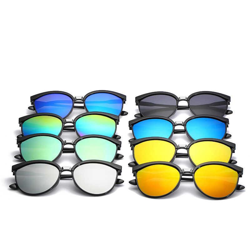 VCKA 2019 кошачий глаз брендовые дизайнерские женские солнцезащитные очки Роскошные пластиковые солнцезащитные очки классические ретро уличные очки Oculos De Sol Gafas