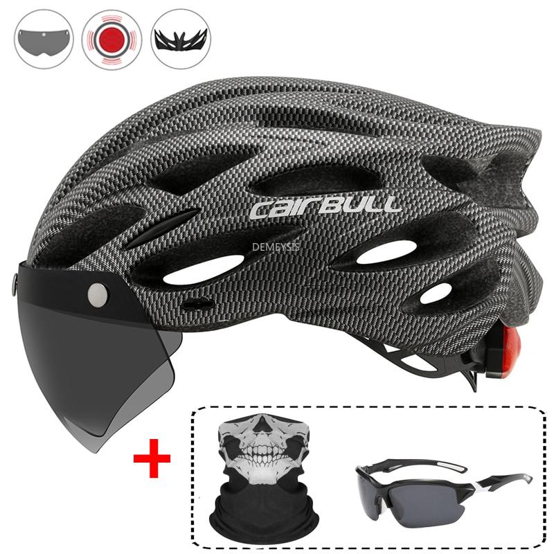 Сверхлегкий защитный шлем для велоспорта, съемный козырек для горных и дорожных велосипедов