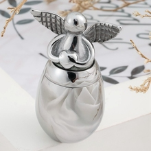 Cremation-Urns Memorial Bird Human-Ashes-Holder Ashes-Alloy Small Mini for Metal Pet-Dog
