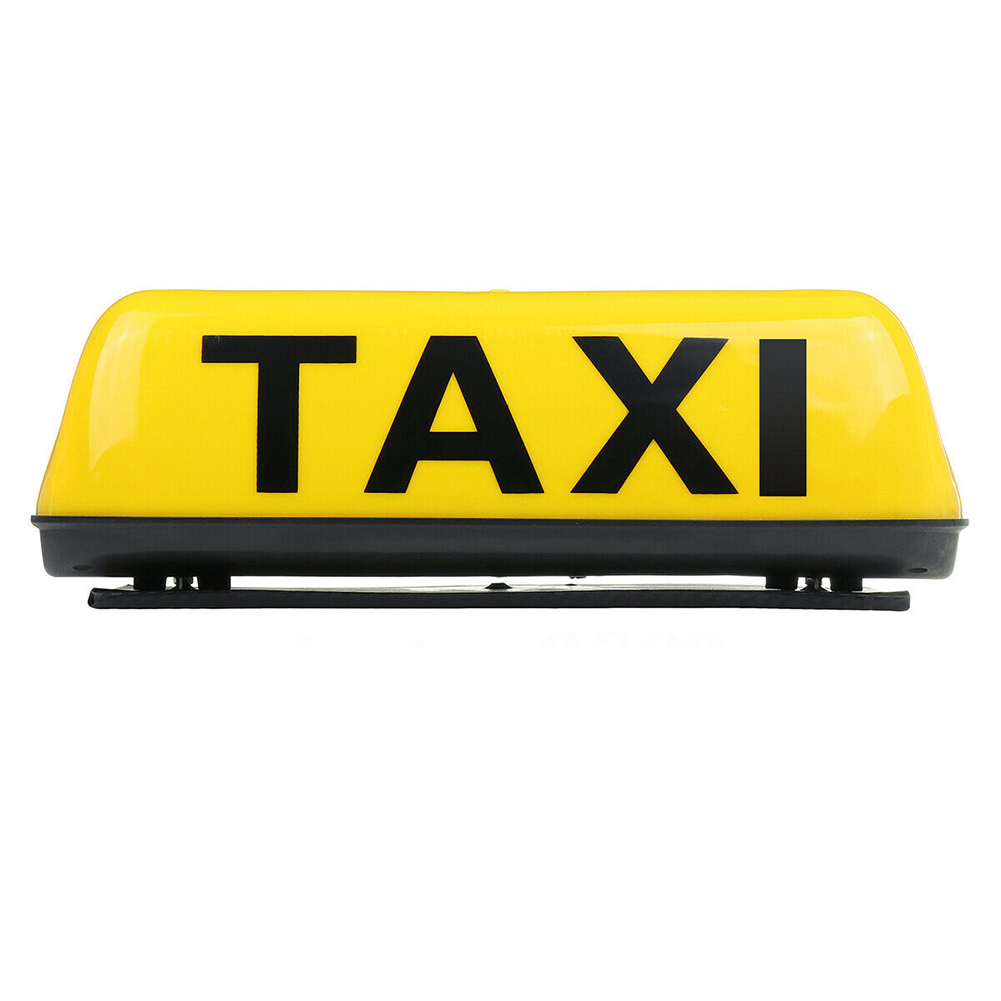Dome Magnetic Waterproof Taxi Top Light Universal Super Bright Vehicle Sign Lamp Led Replacement Topper Illuminated Cab Roof