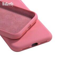 Liquid Silicone Phone Case For Xiaomi Mi