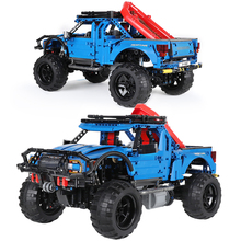 Bricks Building-Blocks Pickup Technic Gifts Remote-Control Raptor Off-Road-Truck Vehicle