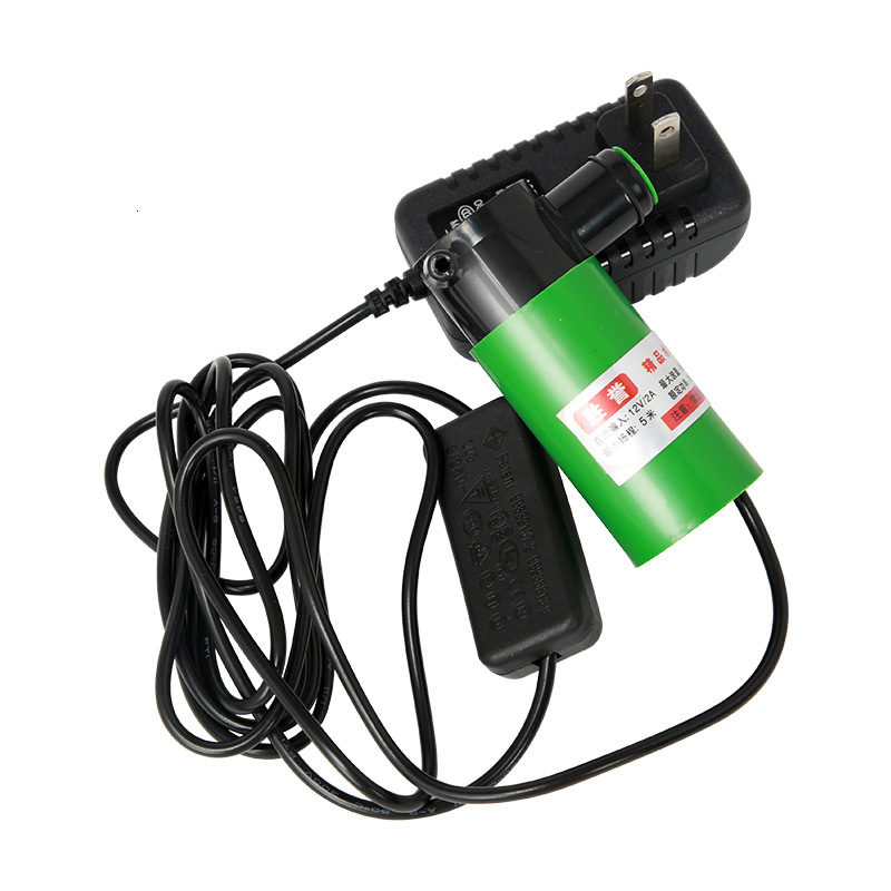 30W <font><b>12V</b></font> 220V adapter Mini <font><b>Submersible</b></font> <font><b>Water</b></font> <font><b>Pump</b></font> Clean Pond Grooving Drilling Machine Improvement Showers, Fish Tanks,Fountains image