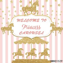 Laeacco Golden Unicorn Party Backdrops For Photography Star Stripes Birthday Banner Photographic Backgrounds Photo Studio