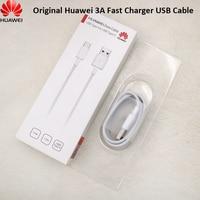 Original Huawei 3A Typ C USB Kabel OC 3,0 Quick Charge Daten SYNC Linie Für P9 P10 Plus Lite Ehre 9 10 v10 20 20s Mate 9 10 Pro