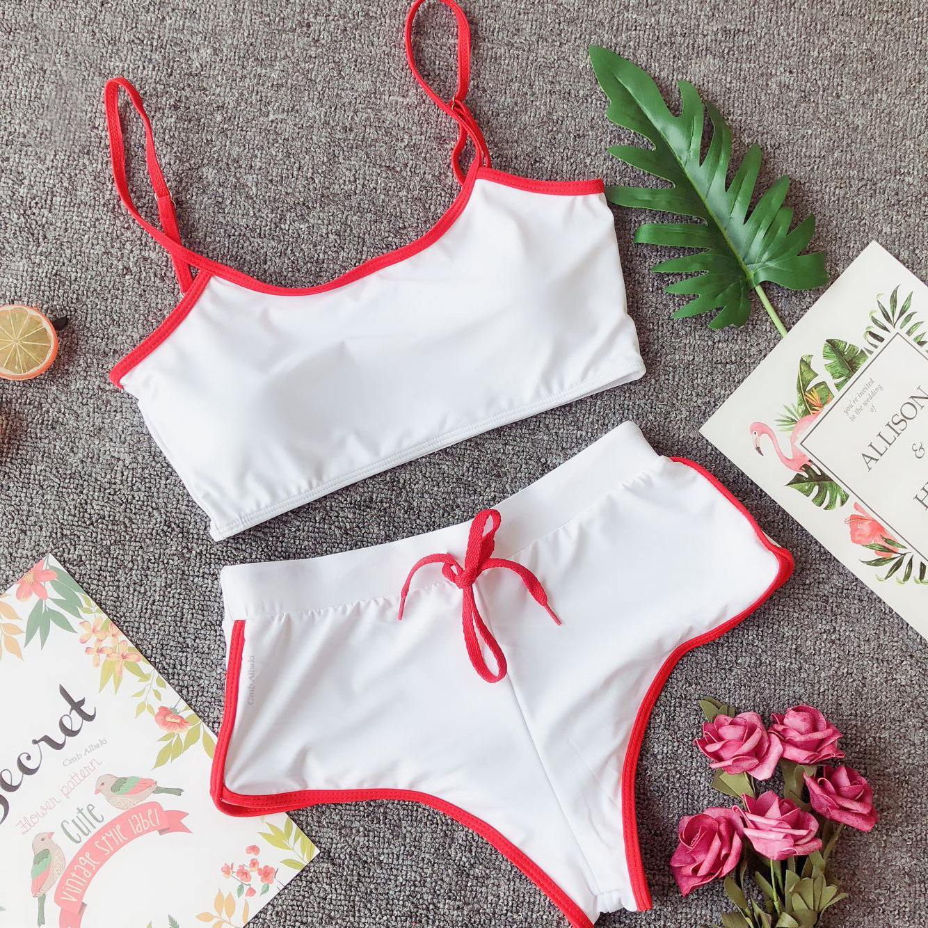 Women Sexy Two-Piece Sportswear Crop Top And Shorts Set