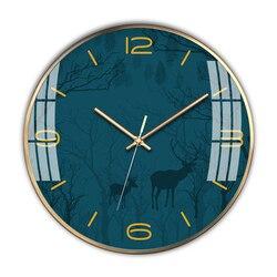 Nowoczesny skandynawski luksusowy zegar ścienny Metal złoty salon cichy sypialnia zegary ścienne Home Decor Relogio De Parede prezent FZ719