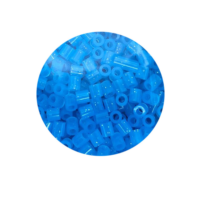JINLETONG 1000Pcs Glitter Hama Beads 5mm DIY 3d puzzle Glitter hama fuse beads toys for children Puzzles fuse beads toys 9colors 3