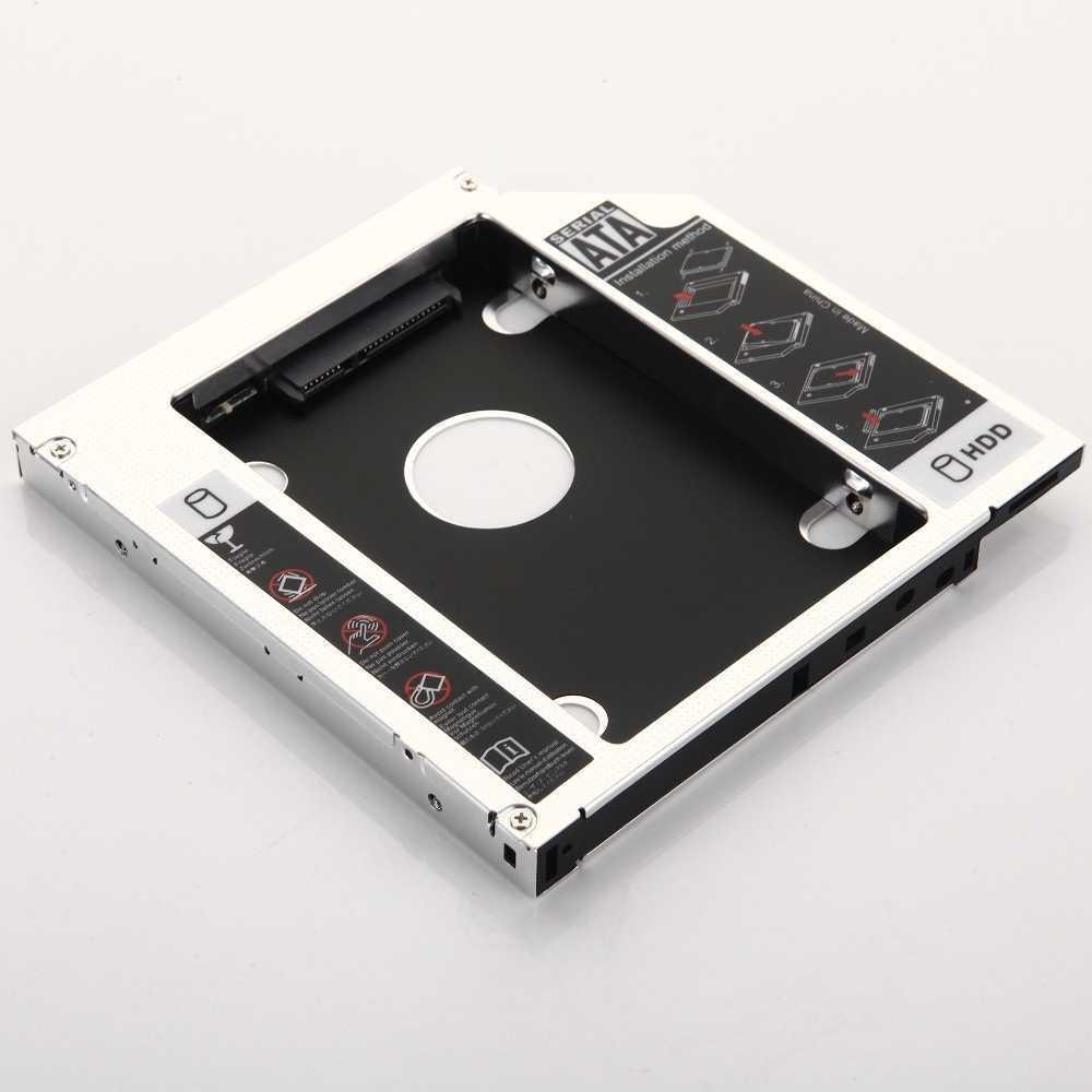 12.7 milímetros Adaptador Da Estrutura 2nd HDD SSD Hard Drive Óptico bay Caddy para Acer Aspire 5740 5741 7739 7740G 5740G 8943G 4741G 4743G 7741