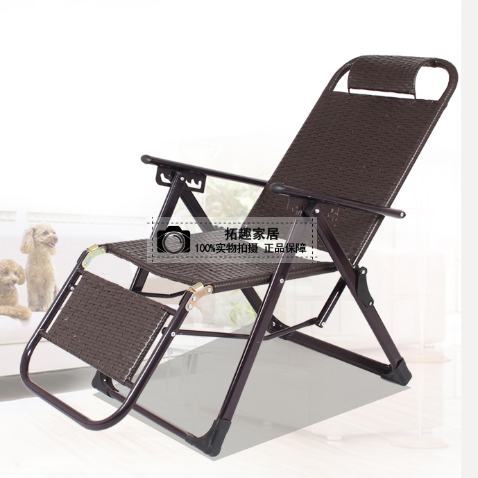 Multifunctional Office Cany Chair Recliner Folding Lunch Break Adult Nap Bed Home Balcony Backrest Beach Chair For The Elderly