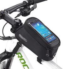 Telefon Fall Fahrrad Tasche Rahmen Vorne Top Rohr Radfahren Tasche Wasserdichte Telefon Fall Touchscreen Tasche MTB Pack Fahrrad Zubehör cheap astey China 12496