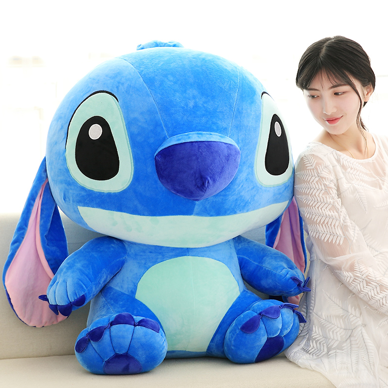 35 -80cm Cartoon Gigante Stitch Lilo Stitch Plush Puppy Toys Children Plush Toys Children Christmas