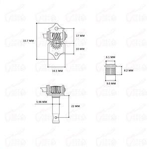 Image 3 - 1 Set Original Genuine Hofner HCT500 Series Bass Kit   (  Tuners + Pickups + Trapeze Tailpiece + Control Panel )