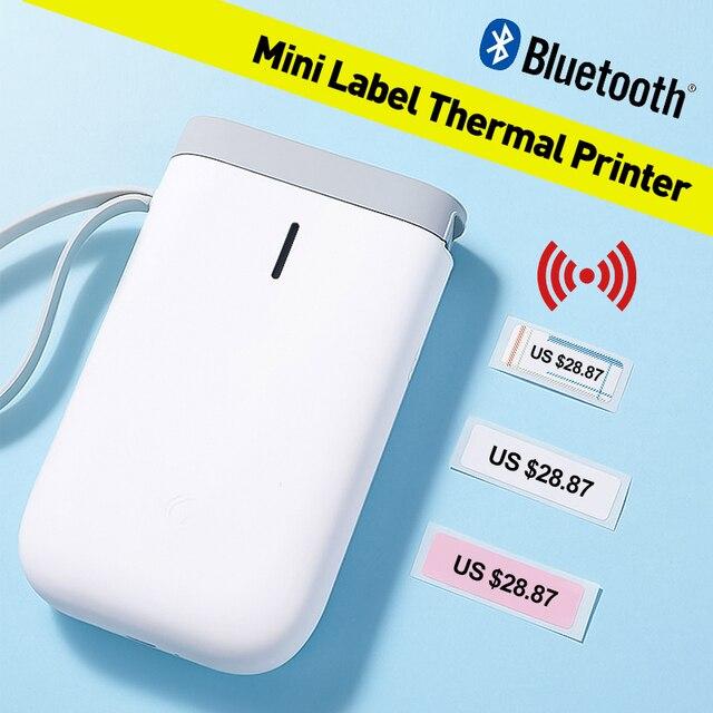 Imprimante Portable sans fil D11 impression rapide détiquettes thermiques, bluetooth
