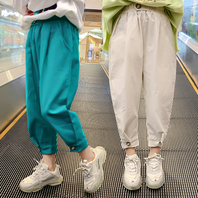 Teenager Mädchen Hosen für Kinder Kostüm Casual Sport Hosen Frühling Sommer Kinder Hosen Schule Kinder mädchen Hosen 6 8 10 12