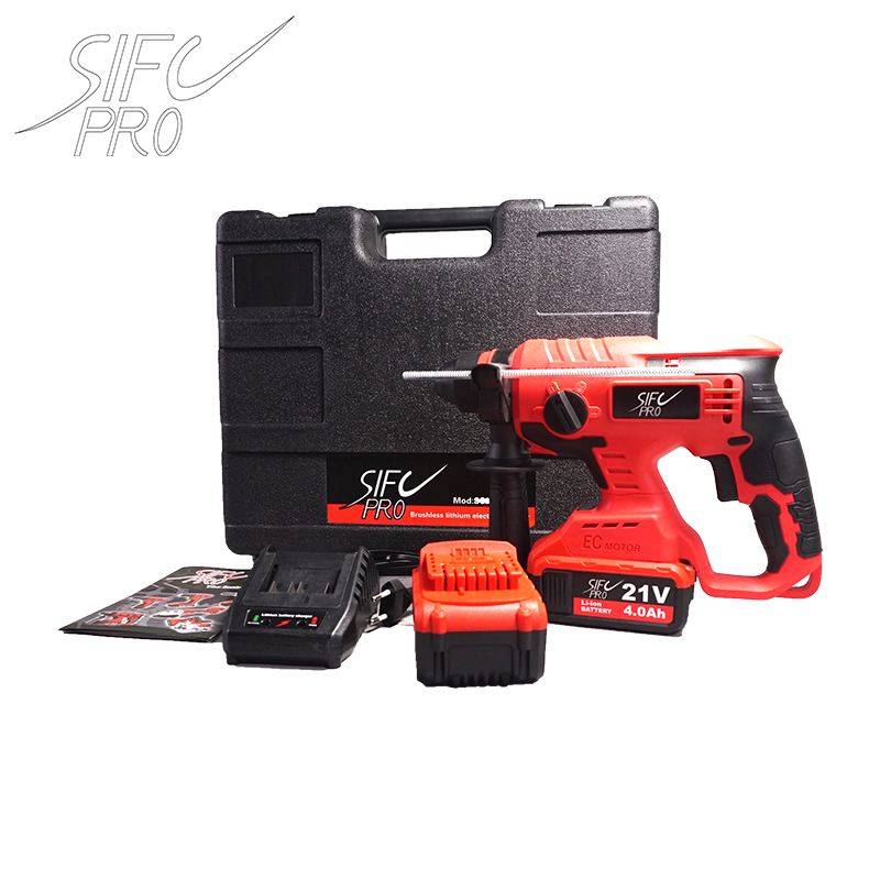 20v  Cordless Hammer Drill SC390 20V Tool Rotary Hammer Electric Hammer Brushless Cordless Lithium-Ion Hammer Drill Electric Per