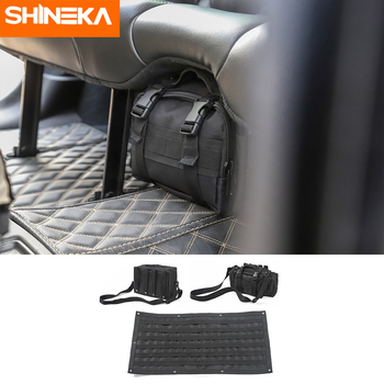 SHINEKA Stowing Tidying For Jeep Wrangler Car Multifunctional Storage Bag Trunk Tool Organizer Accessories For Jeep Wrangler