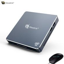 New Portable Windows 10 Mini Pc 8GB 256GB Intel Processor J4125 4K Smart Compute PC Gaming Media Player VS GK55 mini computer