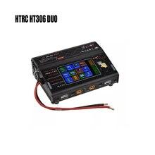 HTRC HT306 DUO 600 Вт* 2 30A* 2 DC баланс зарядное устройство Dis зарядное устройство lcd сенсорный экран для Lilon/LiPo/LiFe/LiHV батареи
