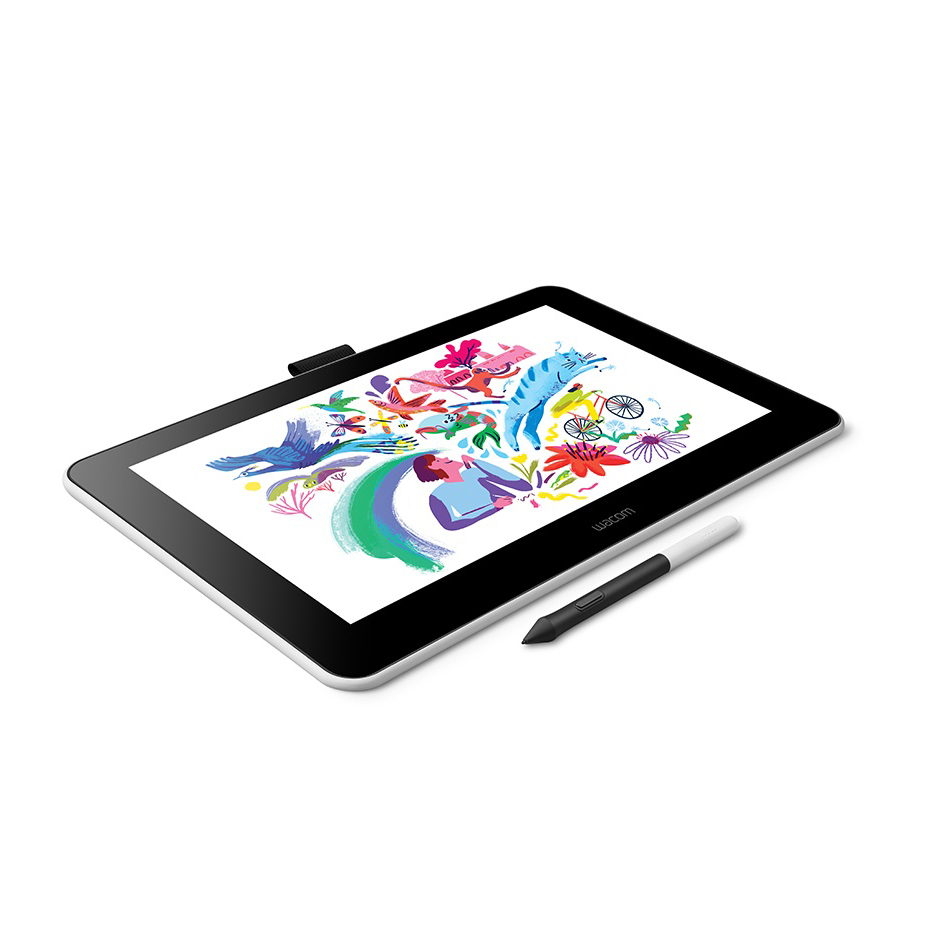 Wacom One DTC133 цифровой планшет для рисования с экраном, 13,3-дюймовый графический дисплей для начинающих