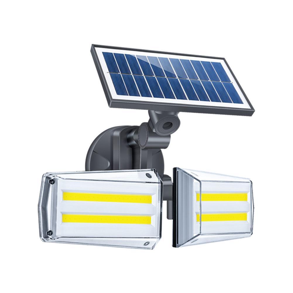 80 COB Outdoor Solar Light Detector Motion Sensor Security Lighting Waterproof Street Wall Lights Garden Street Yard Wall Lamp