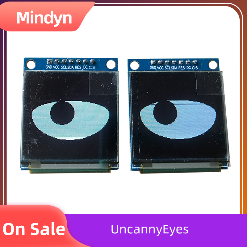 Cartoon Eyes Electronic Blink Module Bar Halloween Children's Toys Fun Decoration Wearable Dress Up