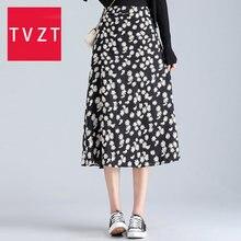 Женская пляжная юбка с оборками tvzt элегантная повседневная