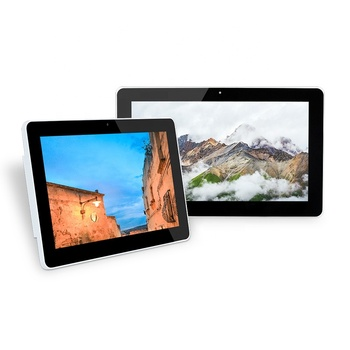 Low price mini computer 15.6 inch pc all in one desktop digital signage advertising player industrial tablet pc