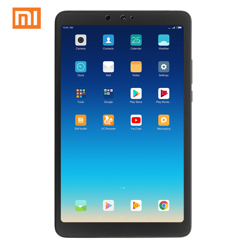 Original Xiaomi Mi Pad 4 Tablets PC 8.0 Inch MIUI 10 Snapdragon 660 Octa Core 32GB/64GB 5.0MP+13.0MP Front Rear Camera Dual WiFi
