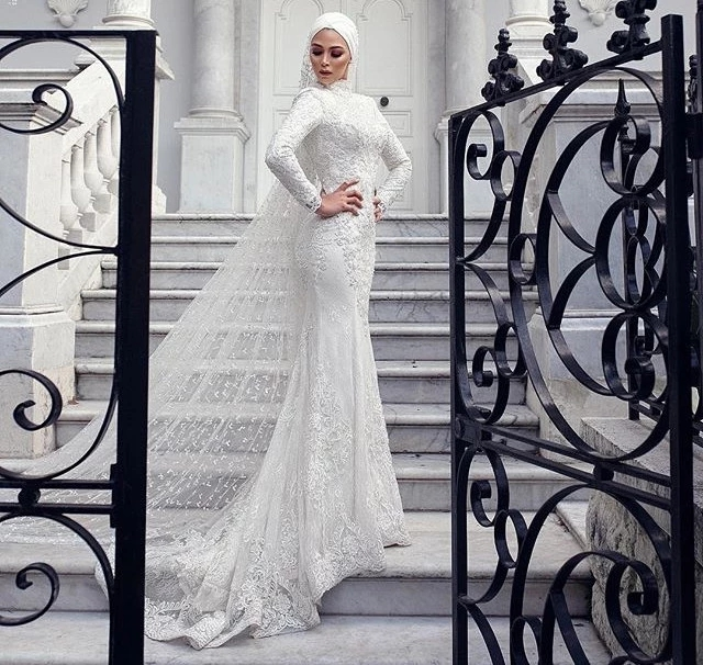 Wedding Dress Hijab Modern Off 79 Buy