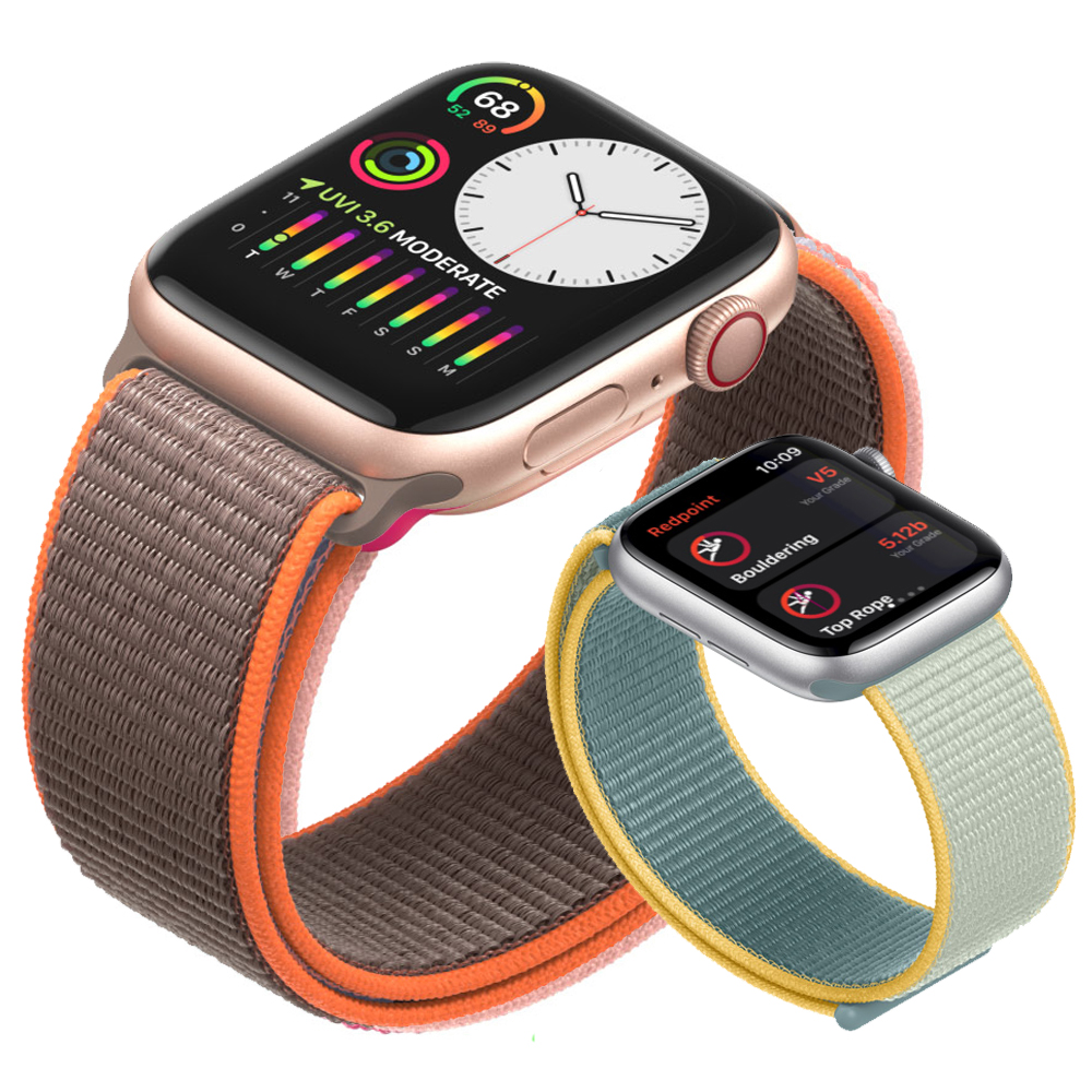 Strap For Apple Watch Band 44 Mm 40mm Iwatch Band 42mm 38mm Breathable Nylon Sport Loop Watchband Bracelet Apple Watch 5 4 3 38