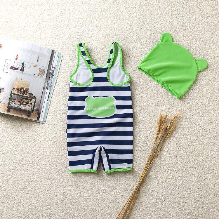 Genuine Product Frog One-piece KID'S Swimwear BOY'S Tour Bathing Suit Cartoon BOY'S Baby Infants Bubble Hot Spring Swimwear